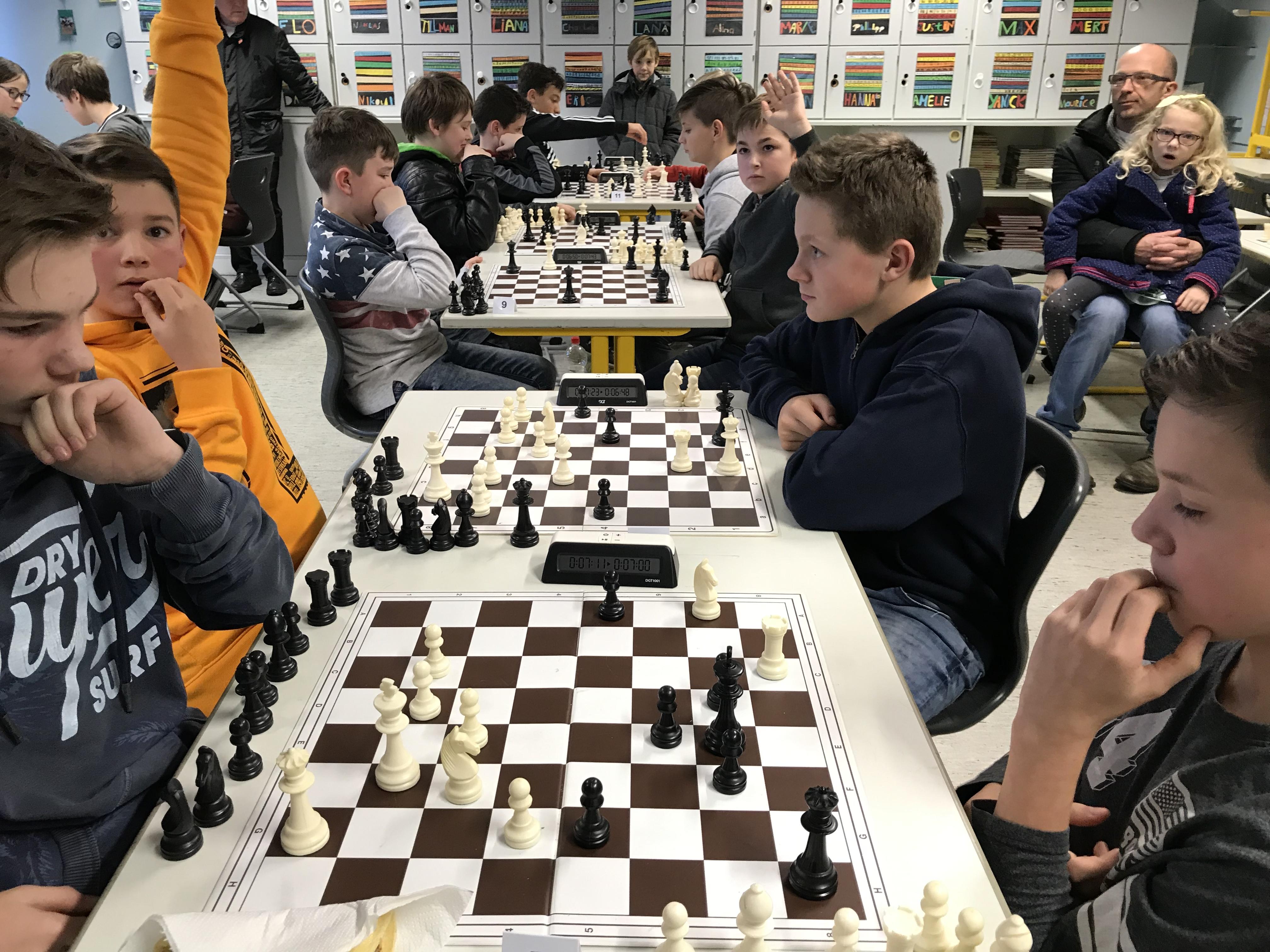 Schulschachmeisterschaft 2018
