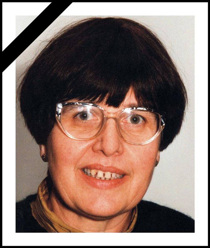 Trauer um Barbara Kaiser