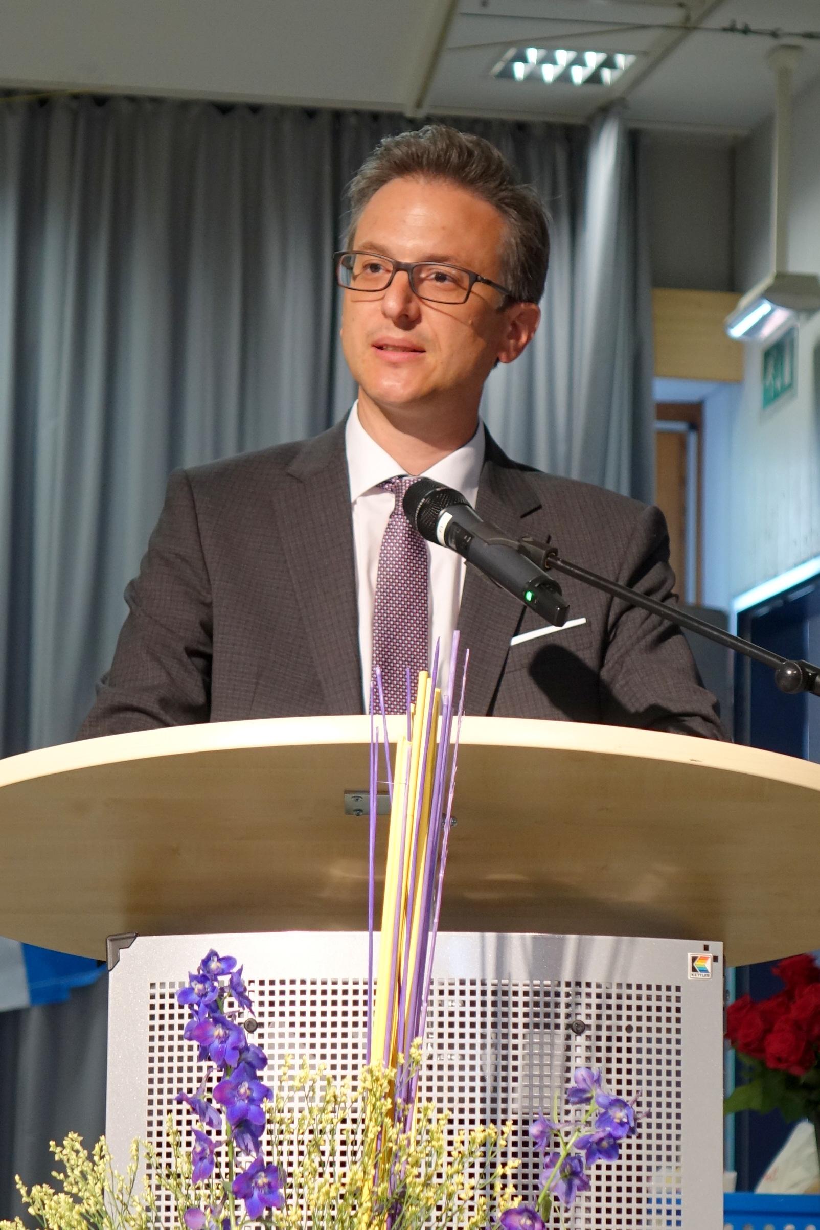 Bürgermeister Marcel Maurer