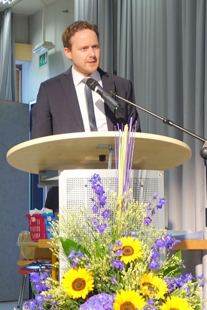 Markus Görtz, Oberstufenleiter